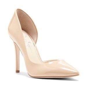Jessica Simpson Stiletto Heels in Beige